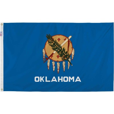 Valley Forge 3 Ft. x 5 Ft. Nylon Oklahoma State Flag