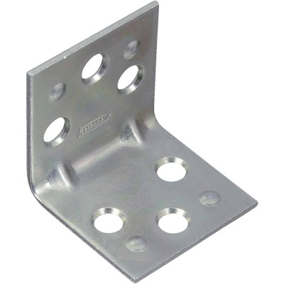 National Catalog V121 1-1/2 In. x 1-1/2 In. Double Wide Zinc Corner Brace