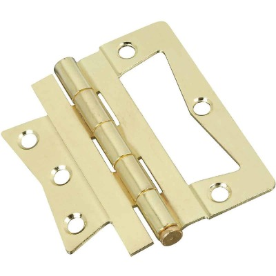 National 4 In. x 4 In. Non-Mortise Hinge (2 Count)