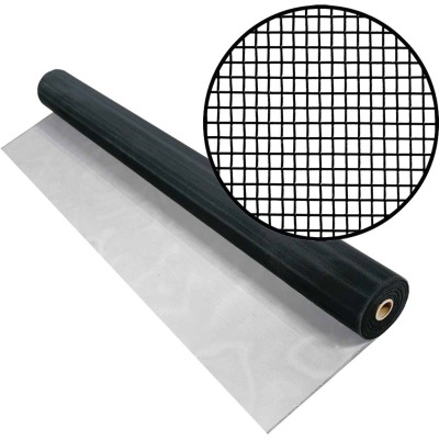 Phifer 24 In. x 100 Ft. Charcoal Aluminum Screen