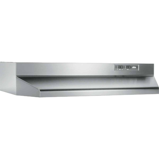Broan-Nutone 40000 Series 30 In. Ducted Stainless Steel Range Hood