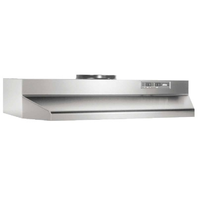 Broan-Nutone F Series 36 In. Convertible Stainless Steel Range Hood