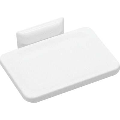 Decko White Soap Dish