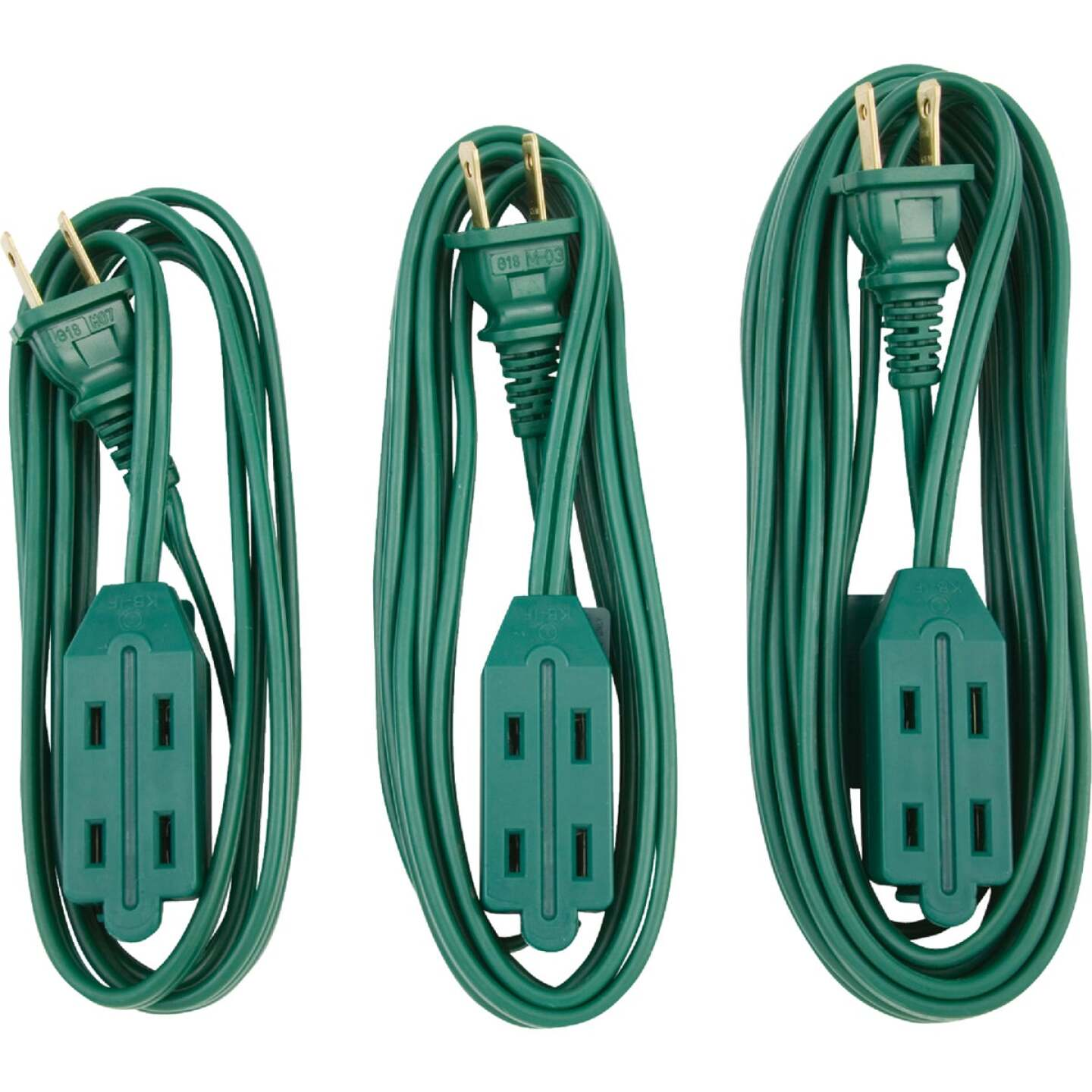 Do it 6 Ft./9 Ft./15 Ft. 16/2 Extension Cord Set (3-Pack) Image 1