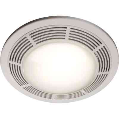 Broan 100 CFM 3.5 Sones 120V Bath Exhaust Fan with Light