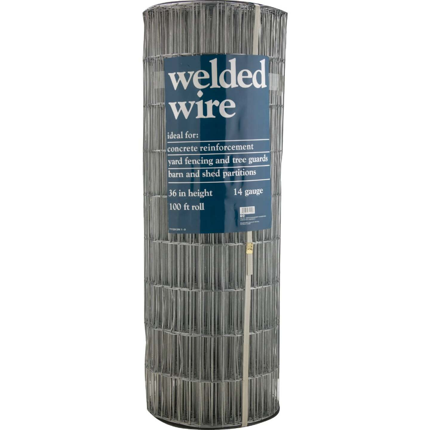 60 In. H. x 100 Ft. L. (2x4) Galvanized Welded Wire Fence Image 2