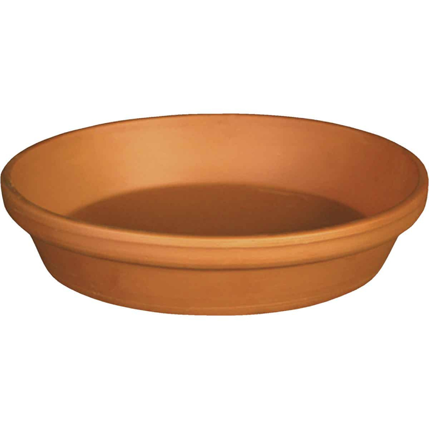 Ceramo 12 In. Terracotta Clay Standard Flower Pot Saucer Image 1
