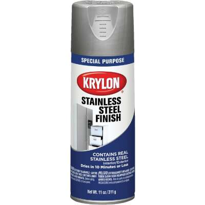 Krylon Gloss Stainless Steel 11 Oz. Appliance Spray Paint