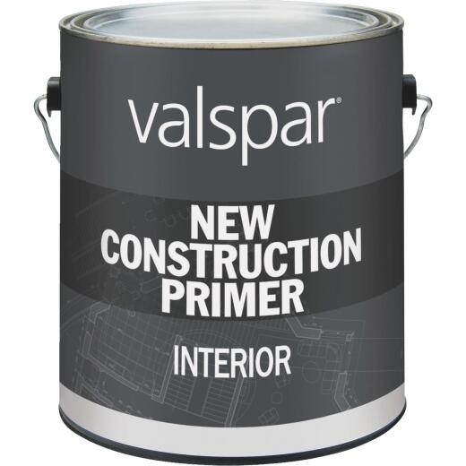 Valspar Interior New Construction Primer, White, 1 Gal.